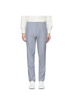 A.P.C. Indigo Donnie Pleated Trousers