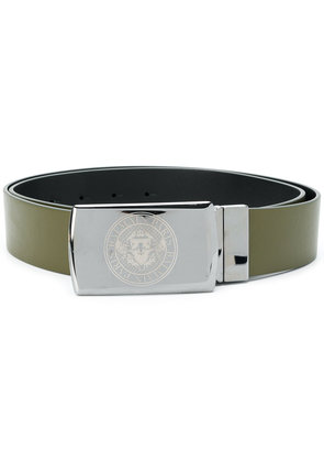 Balmain embossed logo crest belt - Unavailable