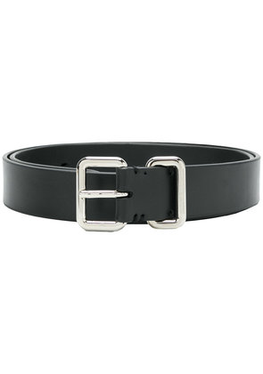 Neil Barrett square buckle belt - Black