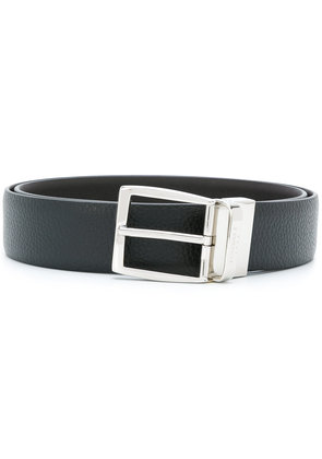 Canali classic buckled belt - Black