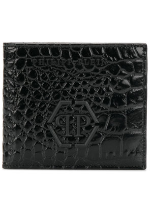 Philipp Plein embossed billfold wallet - Black