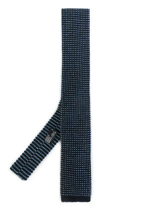 Barba knitted tie - Blue