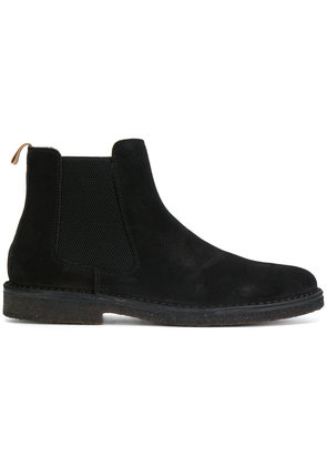 Astorflex stretch panel ankle boots - Black