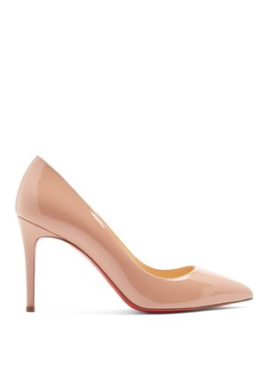 Pigalle 85 patent-leather pumps