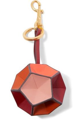 Anya Hindmarch Woman Leather Keychain Red Size -