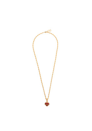 Dolce & Gabbana Sacred Heart necklace - Metallic