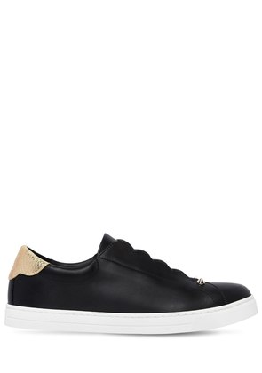 20MM LEATHER SLIP-ON SNEAKERS