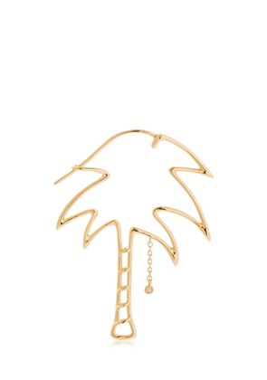 PALM 18KT GOLD MONO EARRING