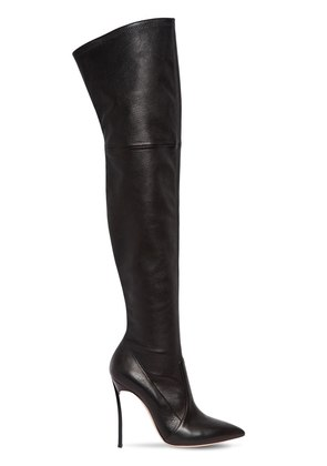 100MM BLADE STRETCH NAPPA LEATHER BOOTS