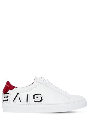 20MM URBAN REVERSE LOGO LEATHER SNEAKERS