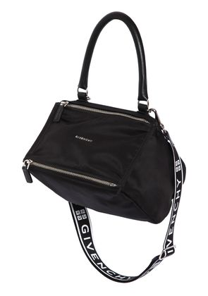 SMALL PANDORA NYLON BAG W/ LOGO STRAP