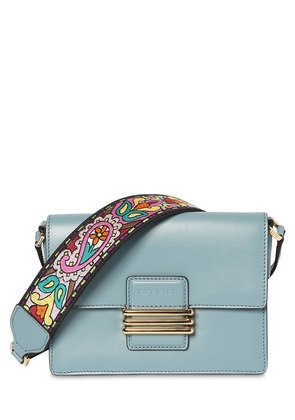 SMALL RAINBOW STRAP LEATHER SHOULDER BAG