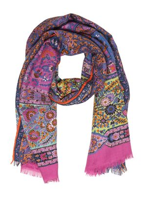 DELHY PRINTED CASHMERE SCARF