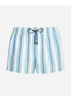 Dolce & Gabbana Beachwear - SHORT PRINTED SWIMMING TRUNKS MULTICOLOR