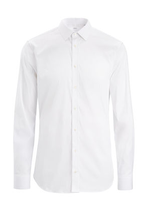 Poplin Stretch Jim Shirt