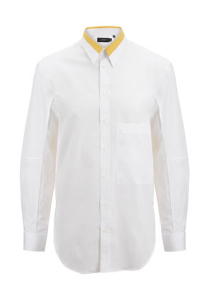 Bi Colour Poplin Lake Shirt