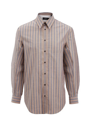 Henley Stripe Lake Shirt
