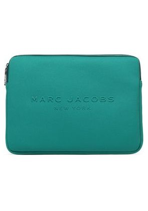 Marc Jacobs Woman Embossed Neoprene Laptop Case Jade Size -