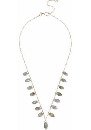 Melissa Joy Manning Woman 14-karat Gold Labradorite Necklace Gold Size -