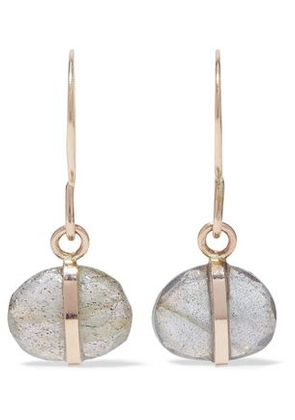 Melissa Joy Manning Woman 14-karat Gold Labradorite Earrings Gold Size -