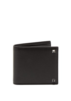 Rockstud leather wallet