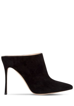 105MM SUEDE MULES