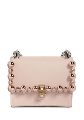SMALL KAN I SCALLOPED BEADS LEATHER BAG