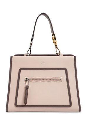 SMALL RUNAWAY LEATHER TOTE BAG