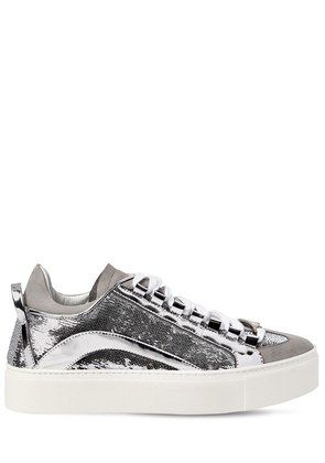 40MM 551 SEQUINED LEATHER SNEAKERS