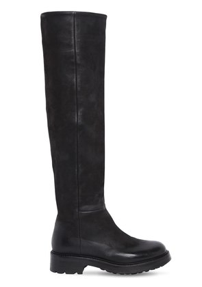 30MM BOSTON LEATHER TALL BOOTS