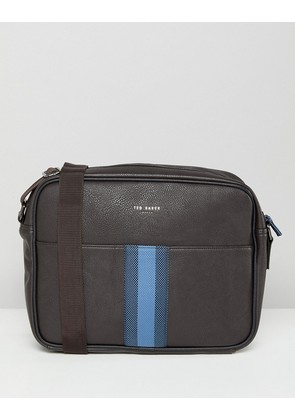 Ted Baker Delano Webbing Messenger Bag - Brown