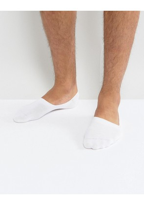 BOSS No Show Socks - White