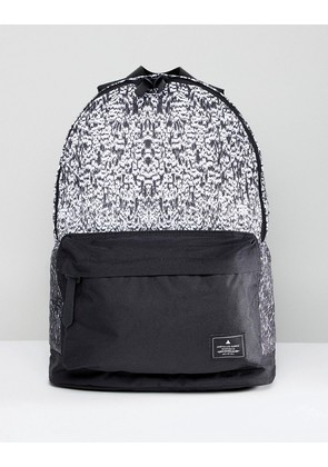ASOS DESIGN Backpack In Ombre Print - Black/white