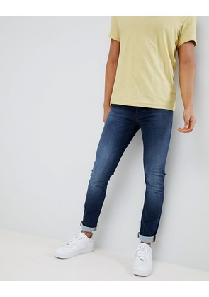 BOSS Skinny Fit Used Wash Jeans - 413