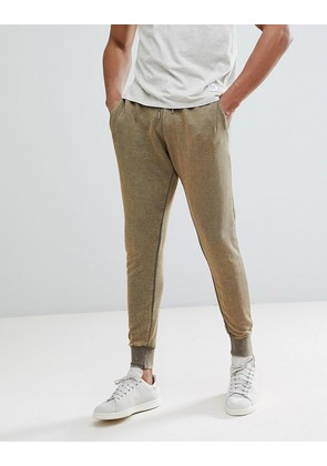 Brave Soul Washed Out Joggers - Green