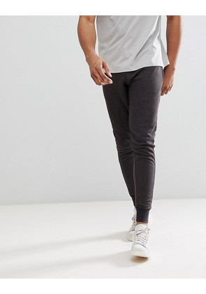 Brave Soul Washed Out Joggers - Charcoal