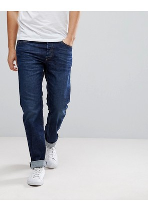 Diesel Waykee Jeans in Mid Wash Blue - Mid wash