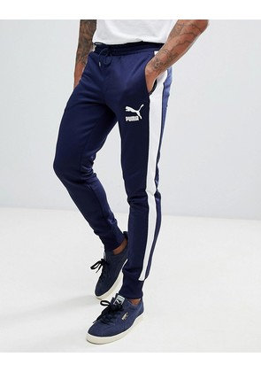 a70f8925ff11 Puma Archive T7 Joggers In Navy 57265706 - Navy