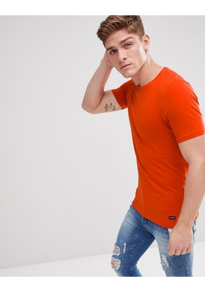 Only & Sons Muscle Fit T-Shirt - Red clay