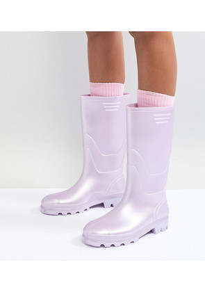 Juju Vintage Tall Wellie - Lilac