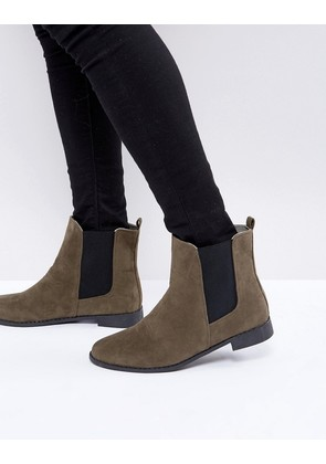 Brave Soul Chelsea Boots In Brown - Brown