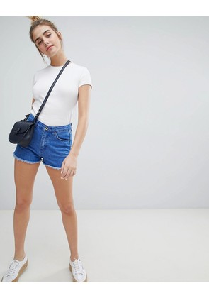 Brave Soul Fraya Denim Shorts - Denim blue