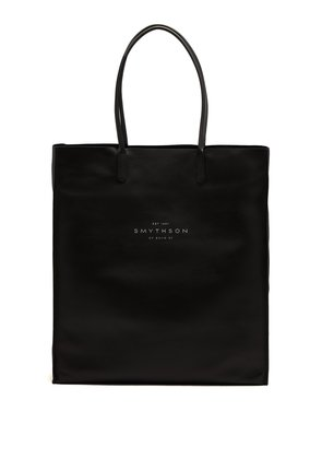Kingly leather tote bag