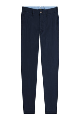 Polo Ralph Lauren Brooke Slim Leg Cotton Pants