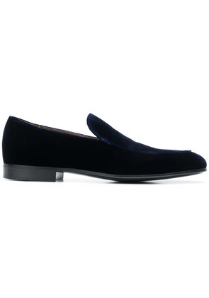Gianvito Rossi velvet loafers - Blue