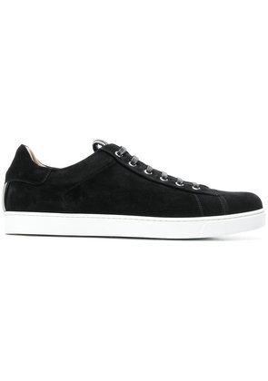 Gianvito Rossi suede low top sneakers - Black