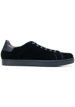 Gianvito Rossi velvet low top sneakers - Blue