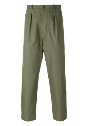 Valentino tailored cargo pants - Green