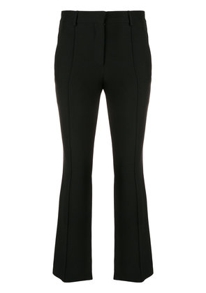 Valentino cropped flared trousers - Black