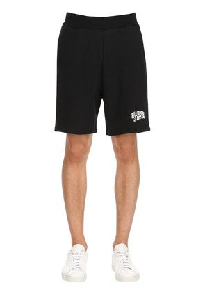 LOGO DETAIL COTTON SWEAT SHORTS